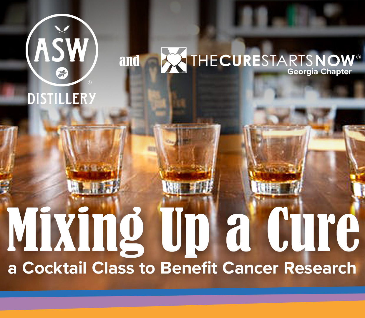 Mixing Up a Cure: A Cocktail Class to Benefit Cancer Research