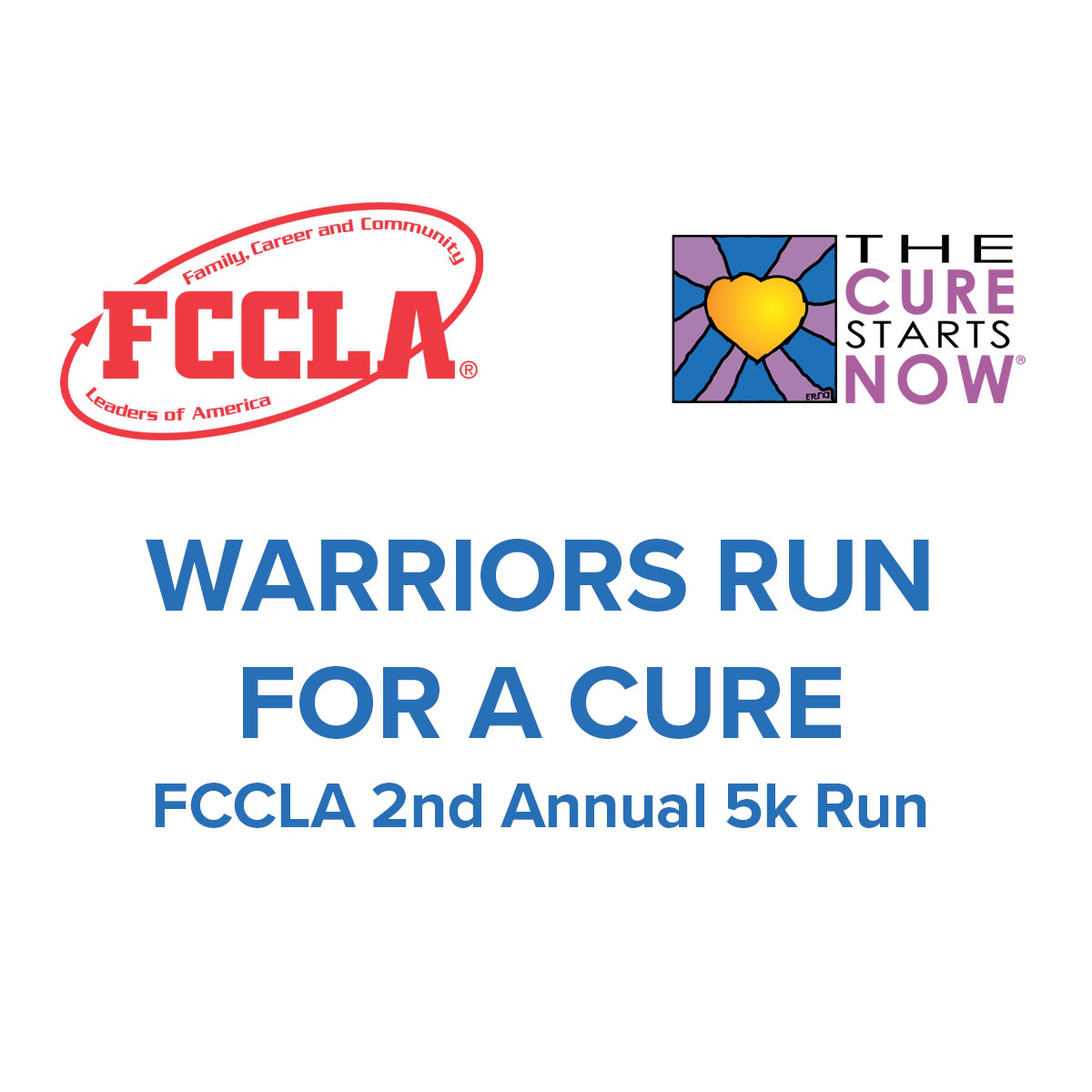Warriors Run for a Cure FCCLA 5K Run 2019