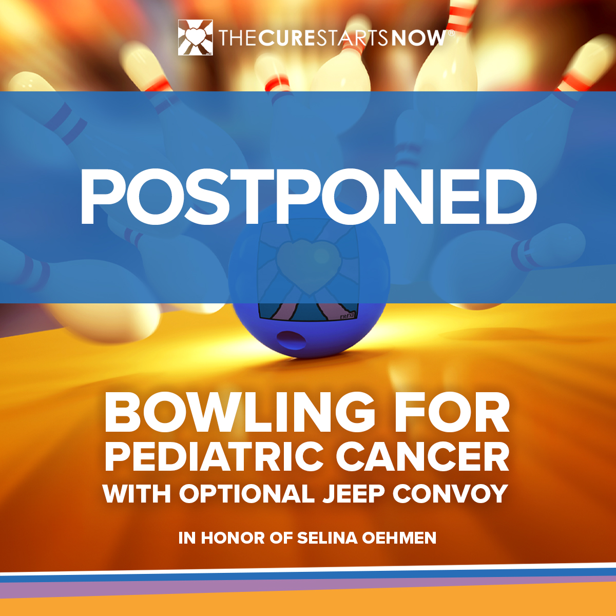 Bowling For Pediatric Cancer: POSTPONED