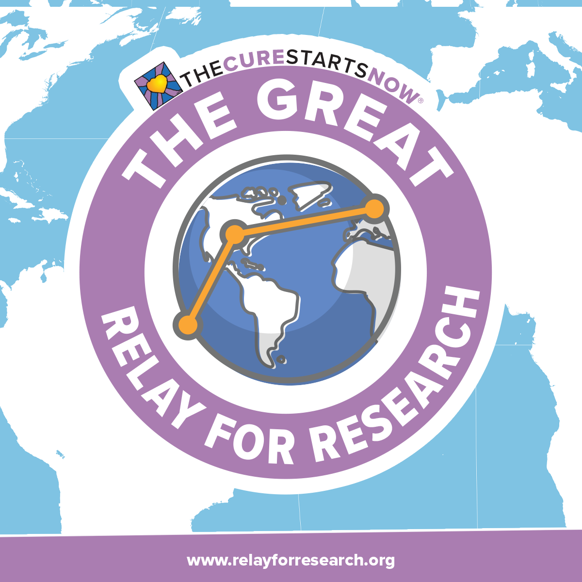 The Great Relay for Research