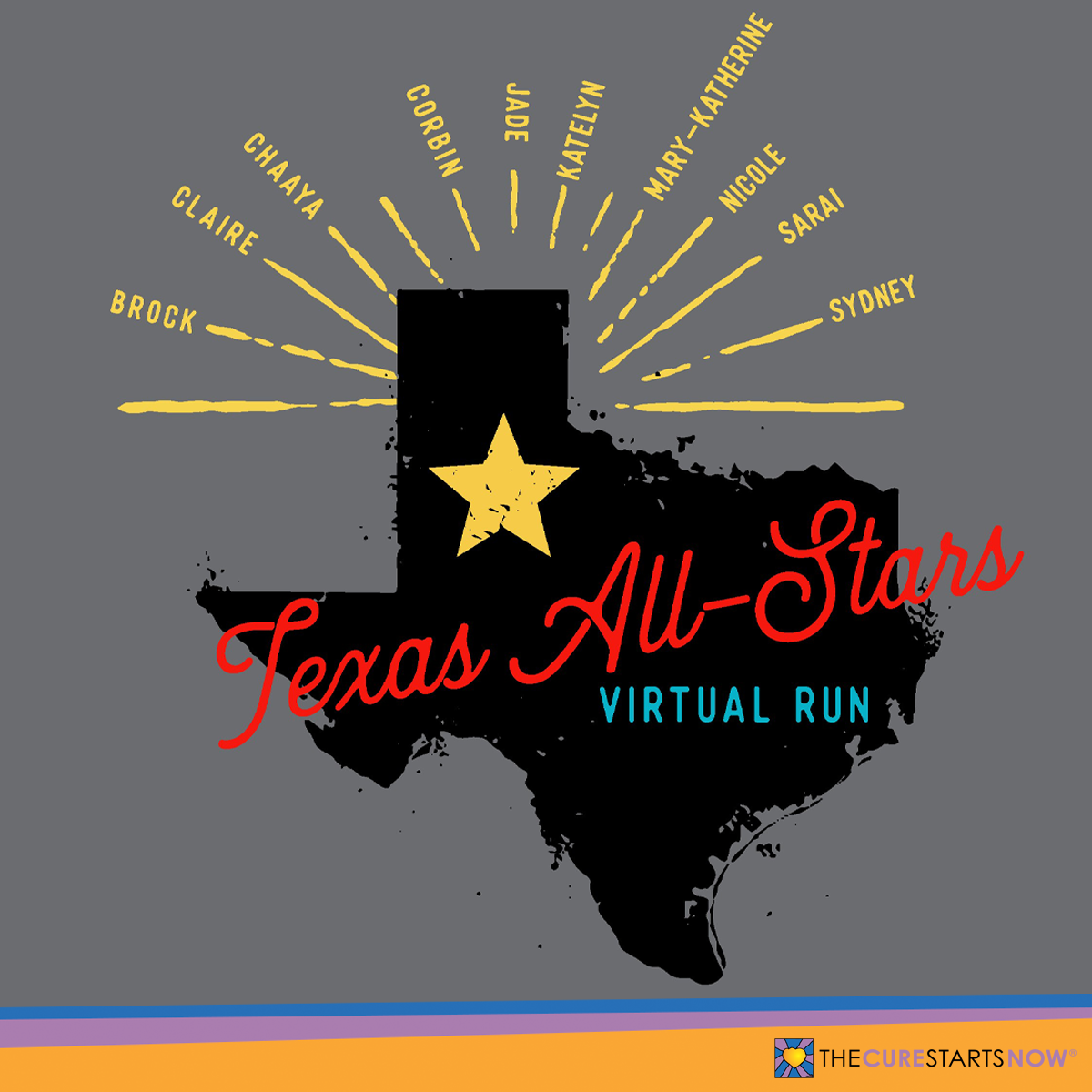 Texas All-Stars Virtual Run