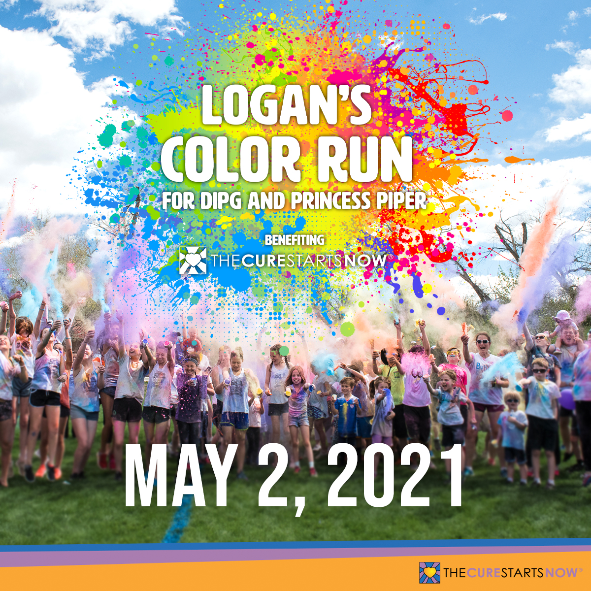 Logan's Color Run for DIPG and Princess Piper