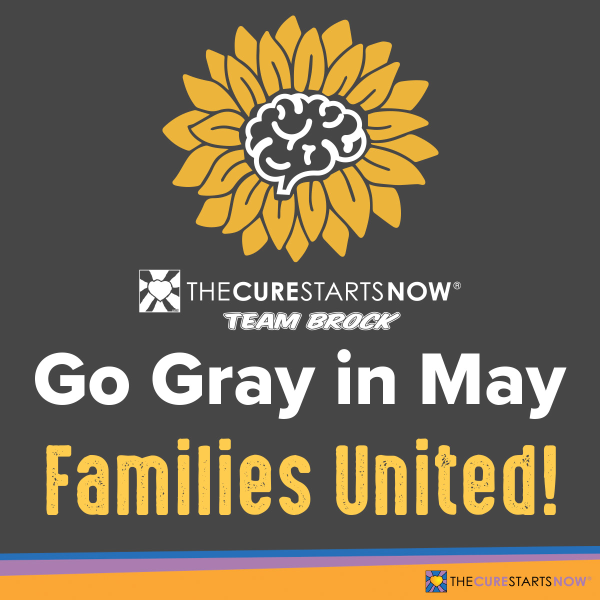 Go Gray in May: Families United!